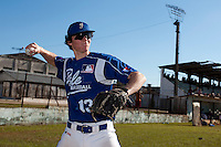 BASEBALL - POLES BASEBALL FRANCE - TRAINING CAMP CUBA - HAVANA (CUBA) - 13 TO 23/02/2009 - MAXIME CHARLOT (FRANCE)