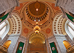 Olympia Washington,<br /> Interior view of the Legislative Building Rotunda and the Capitol Dome, Washington State Capitol, 1928l