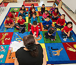 Students begin class on Monday in the new Sherman Elementary School.