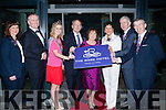 Opening the new Rose Hotel,Tralee on Friday were Dick and Eileen Henggler with Dick and Eileen were Michelle King (Sales and Marketing), Daithi O Se, Eilish Brennan (2015 Rose of Tralee), Dick and Eileen Henggler, Orlaigh O'Gara Mark Sullivan (GM Rose Hotel) and Anthony O'Gara President of Rose Of Tralee.