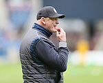 Vern Cotter coach of Scotland - RBS 6Nations 2015 - Scotland  vs Italy - BT Murrayfield Stadium - Edinburgh - Scotland - 28th February 2015 - Picture Simon Bellis/Sportimage