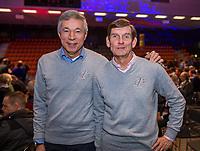 Rotterdam, Netherlands, December 16,  2017, Topsportcentrum,  KNLTB Jaarcongres,  Rolf Thung and Louk Sanders (R)<br /> Photo: Tennisimages/Henk Koster