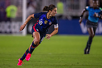 5th March 2020, Orlando, Florida, USA;  the United States forward Carli Lloyd (10) during the SheBelieves Cup match between England and the USA on March 5, 2020, at Exploria Stadium in Orlando FL.