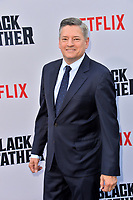"LOS ANGELES, USA. June 04, 2019: Ted Sarandos at the premiere for ""The Black Godfather"" at Paramount Theatre.<br /> Picture: Paul Smith/Featureflash"