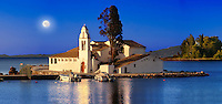 Greek Orthodox Convent of Vlachernas, Kanoni, Peninsula, Corfu Greek Ionian Islands