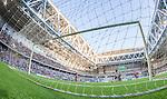 Stockholm 2014-07-20 Fotboll Superettan Hammarby IF - &Ouml;sters IF :  <br /> Hammarbys Lars Mendonca Fuhre g&ouml;r 3-0 bakom &Ouml;sters  m&aring;lvakt Alexander Nadj <br /> (Foto: Kenta J&ouml;nsson) Nyckelord:  Superettan Tele2 Arena Hammarby HIF Bajen &Ouml;ster &Ouml;IF jubel gl&auml;dje lycka glad happy remote remotekamera