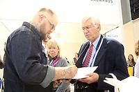 Autor Hagen Stoll am Stand von Bastei/Lübbe