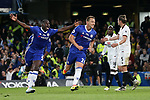 Chelsea's John Terry celebrates scoring his sides opening goal during the Premier League match at Stamford Bridge Stadium, London. Picture date: May 15th, 2017. Pic credit should read: David Klein/Sportimage