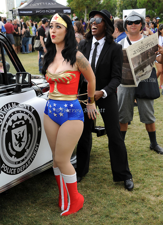 Wonder Women at Comic-Con 2014 in San Diego, Ca. July 26, 2014.