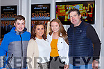 Jamie, Julie, Chloe and Ciaran O'Donoghue at the Rathmore Strictly Come Dancing in the INEC on Saturday night