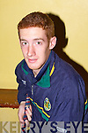 David Fitzell.............at  the Kilmoyley team press night ahead of the County Hurling Final