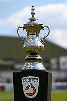 Winner cup ahead of  Woking vs Welling United, Vanarama National League South Promotion Play-Off Final Football at The Laithwaite Community Stadium on 12th May 2019