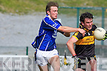 Giles O'Grady Kerins O'Rahillys is tackles Ambrose O'Donovan Dr Crokes in the Divison 1 league final in Killarney on Sunday