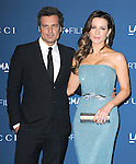 LOS ANGELES, CA - NOVEMBER 02: Kate Beckinsale and Len Wiseman arrives at  LACMA 2013 Art + Film Gala held at LACMA  in Los Angeles, California on November 02,2012                                                                               © 2013 Hollywood Press Agency