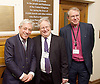 Kinderstransport plaque in Parliament, Westminster, London, Great Britain <br /> 27th January 2017 <br /> <br /> Chief Rabbi and Archbishop of Canterbury to mark Holocaust Memorial Day with Lord Dubs at rededication of Kindertransport plaque in Parliament<br />  <br /> 20 years ago the Committee of the Reunion of the Kindertransport donated a plaque to Parliament commemorating Britain&rsquo;s act of generosity to Jewish children in Nazi-occupied Europe. On Holocaust Memorial Day [27 January 2017], the plaque will be rededicated in the presence of newly arrived child refugees who were reunited with their families from Calais last year by Safe Passage, a project of Citizens UK. <br />  <br /> The ceremony will be particularly poignant as it will be attended by Lord Dubs, himself a Kindertransport survivor, who passed an amendment to the Immigration Act last year, with the Government's support, affording sanctuary in the UK to some of the most vulnerable lone child refugees in Europe.<br />  <br /> <br /> <br /> Speaker of the House of Commons, John Bercow, <br /> Liberal Chief Rabbi Danny Rich <br /> <br /> Rededication of Kinderstransport plaque in Parliament<br /> <br /> <br /> <br /> <br /> Photograph by Elliott Franks