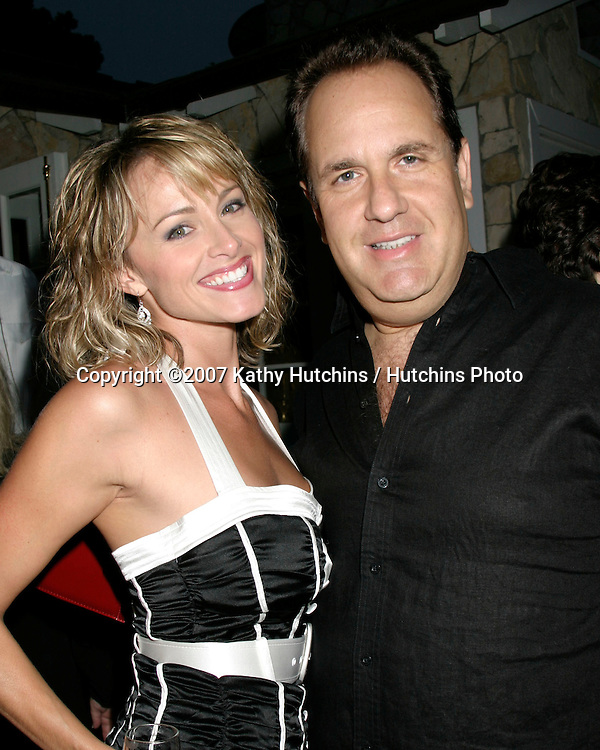 Jennifer O'Dell & Scott Hart.Eric Braeden receives Star on the .Hollywood Walk of Fame Party.Private Home.Pacific Palisades, CA.July 20, 2007.©2007 Kathy Hutchins / Hutchins Photo....