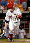 16 May 2007: Washington Nationals first baseman Robert Fick in action against the Atlanta Braves at RFK Stadium in Washington, DC. The Nationals rallied to defeat the Braves 6-4 to take a 2-1 lead in their four-game series...Mandatory Photo Credit: Ed Wolfstein Photo