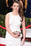 Maisie Williams attends The 20th SAG Awards held at The Shrine Auditorium in Los Angeles, California on January 18,2014                                                                               © 2014 Hollywood Press Agency