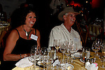 September 11, 2009:  Guests at the 'Rhythm on the Vine' charity dinner to benefit Shriners Children Hospital held at  the South Coast Winery in Temecula, California..Photo by Nina Prommer/Milestone Photo
