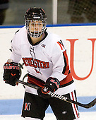 - The visiting University of Connecticut Huskies defeated the Northeastern University Huskies 4-2 (EN) in NU's senior game on Saturday, February 19, 2011, at Matthews Arena in Boston, Massachusetts.