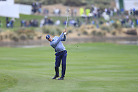 Matt Kucher (USA) on the 18th fairway during the final round of the Waste Management Phoenix Open, TPC Scottsdale, Scottsdale, Arisona, USA. 03/02/2019.<br /> Picture Fran Caffrey / Golffile.ie<br /> <br /> All photo usage must carry mandatory copyright credit (&copy; Golffile | Fran Caffrey)