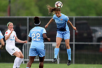 Piscataway, NJ - Sunday April 30, 2017: Mandy Freeman and Erica Skroski during a regular season National Women's Soccer League (NWSL) match between Sky Blue FC and FC Kansas City at Yurcak Field.