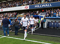 Bolton Wanderers' Gary Madine comes out onto the pitch<br /> <br /> Photographer Ashley Western/CameraSport<br /> <br /> The EFL Sky Bet Championship - Millwall v Bolton Wanderers - Saturday August 12th 2017 - The Den - London<br /> <br /> World Copyright &copy; 2017 CameraSport. All rights reserved. 43 Linden Ave. Countesthorpe. Leicester. England. LE8 5PG - Tel: +44 (0) 116 277 4147 - admin@camerasport.com - www.camerasport.com