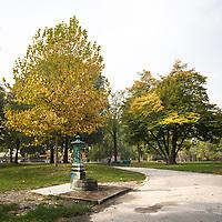 Parco della Vila Litta a Milano..Villa Litta Park in Milan