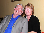 John and Mary McGuirk pictured at Vincent Ludlow's 50th birthday in the Star and Crescent. Photo: Colin Bell/pressphotos.ie