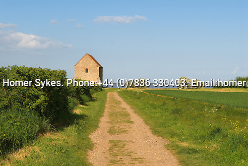 "Bradwell on Sea. ""St Peter on the Wall"" church. Celtic Chapel. Essex. 2009"