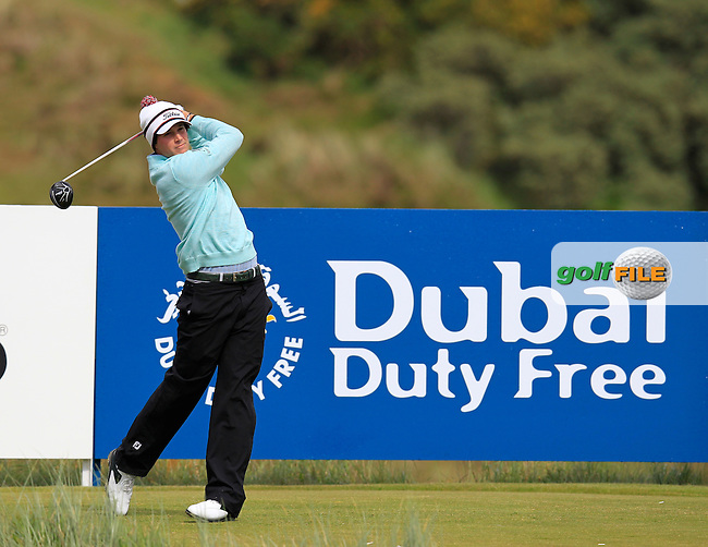 Peter UIHLEIN (USA) tees off the 9th tee during Friday's Round 2 of the 2015 Dubai Duty Free Irish Open, Royal County Down Golf Club, Newcastle Co Down, Northern Ireland 5/29/2015 Picture Eoin Clarke, www.golffile.ie