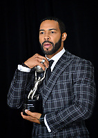 LOS ANGELES, CA. March 30, 2019: Omari Hardwick at the 50th NAACP Image Awards.<br /> Picture: Paul Smith/Featureflash