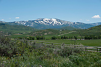 A view of the Steamboat Mountain Resort in Steamboat, Colorado, Wednesday, June 15, 2011. ..Photo by Matt Nager
