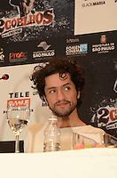 SAO PAULO, SP, 17 DE JANEIRO DE 2012 - COLETIVA FILME 2 COELHOS  - O ator Fernando Alves Pinto durante coletiva de imprensa do filme 2 Coelhos, no Hotel Blue Tree Premium Faria Lima, na regiao sul da capital paulista. FOTO: ALEXANDRE MOREIRA - NEWS FREE.