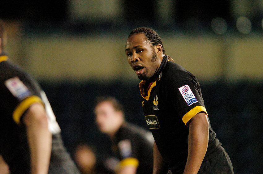 Photo Richard Lane..London Wasps A v Leicester Tigers A..Zurich A League. 11/04/2005..Joe Mbu.