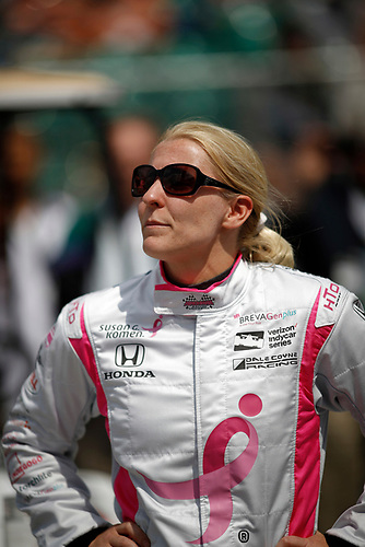 21-22 May, 2016, Indianapolis, Indiana, USA<br /> Pippa Mann<br /> ©2016, Michael L. Levitt<br /> LAT Photo USA
