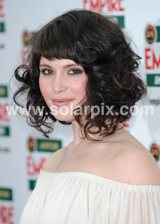 **ALL ROUND PICTURES FROM SOLARPIX.COM**.**WORLDWIDE SYNDICATION RIGHTS**.arrivals for The Empire Film Awards, Grosvenor House Hotel, London, UK. 29 March 2009..This pic: Gemma Arterton..JOB REF: 8740 SSD     DATE: 29_03_2009.**MUST CREDIT SOLARPIX.COM OR DOUBLE FEE WILL BE CHARGED**.**ONLINE USAGE FEE GBP 50.00 PER PICTURE - NOTIFICATION OF USAGE TO PHOTO @ SOLARPIX.COM**.**CALL SOLARPIX : +34 952 811 768 or LOW RATE FROM UK 0844 617 7637**