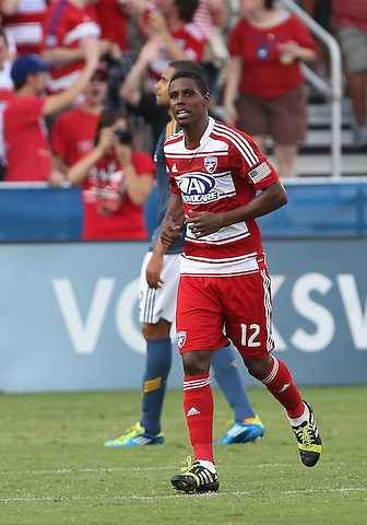 FRISCO, TX - AUGUST 11:  FC Dallas vs Los Angles Galaxy at FC Dallas Stadium August 11, 2013 in Frisco, Texas. Photo by Rick Yeatts