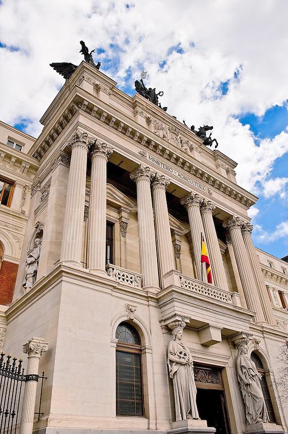 Ministerio de Agricultura building, Madrid, Spain