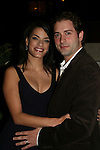 One Life To Live's Jacqueline Hendy poses with husband Jeff Curetonat the ABC Daytime Casino Night on October 23, 2008 at Guastavinos, New York CIty, New York. (Photo by Sue Coflin/Max Photos)