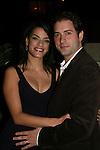 One Life To Live's Jacqueline Hendy poses with husband Jeff Curetonat the ABC Daytime Casino Night on October 23, 2008 at Guastavinos, New York CIty, New York. (Photo by Sue Coflin/Max Photos)
