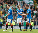Ryan Jack, Ross McCrorie and Fabio Cardoso