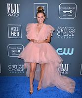 SANTA MONICA, USA. January 12, 2020: Keltie Knight at the 25th Annual Critics' Choice Awards at the Barker Hangar, Santa Monica.<br /> Picture: Paul Smith/Featureflash