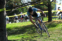 Sep 27 2008: Boulder Racing 2008 cyclocross race at Interlocken in Boulder, Colorado.