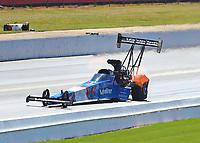 May 7, 2017; Commerce, GA, USA; NHRA top fuel driver XXXX during the Southern Nationals at Atlanta Dragway. Mandatory Credit: Mark J. Rebilas-USA TODAY Sports