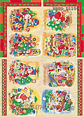 Alfredo, CHRISTMAS SANTA, SNOWMAN, decoupage, paintings(BRTOD1106,#X#,#DP#) Weihnachten, Navidad, illustrations, pinturas