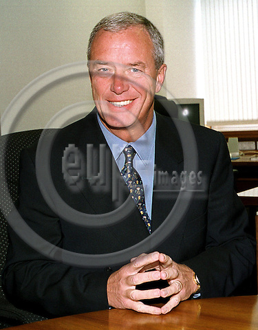 COLOGNE - GERMANY - 14. JULY 2000--David THRUSFIELD the CEO of Ford Europe in his office at the Ford-Niehl site.--PHOTO: JUHA ROININEN / EUP-IMAGES
