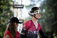 former TT World Champion Vasil Kiryienka (BLR/Ineos) at the start<br /> <br /> stage 10 (ITT): Jurançon to Pau (36.2km > in FRANCE)<br /> La Vuelta 2019<br /> <br /> ©kramon