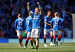 12.05.2019 Rangers v Celtic: Scott Arfield celebrates