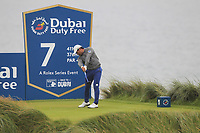 Yusaku Miyazato (JPN) on the 7th tee during Round 2 of the Irish Open at LaHinch Golf Club, LaHinch, Co. Clare on Friday 5th July 2019.<br /> Picture:  Thos Caffrey / Golffile<br /> <br /> All photos usage must carry mandatory copyright credit (© Golffile | Thos Caffrey)